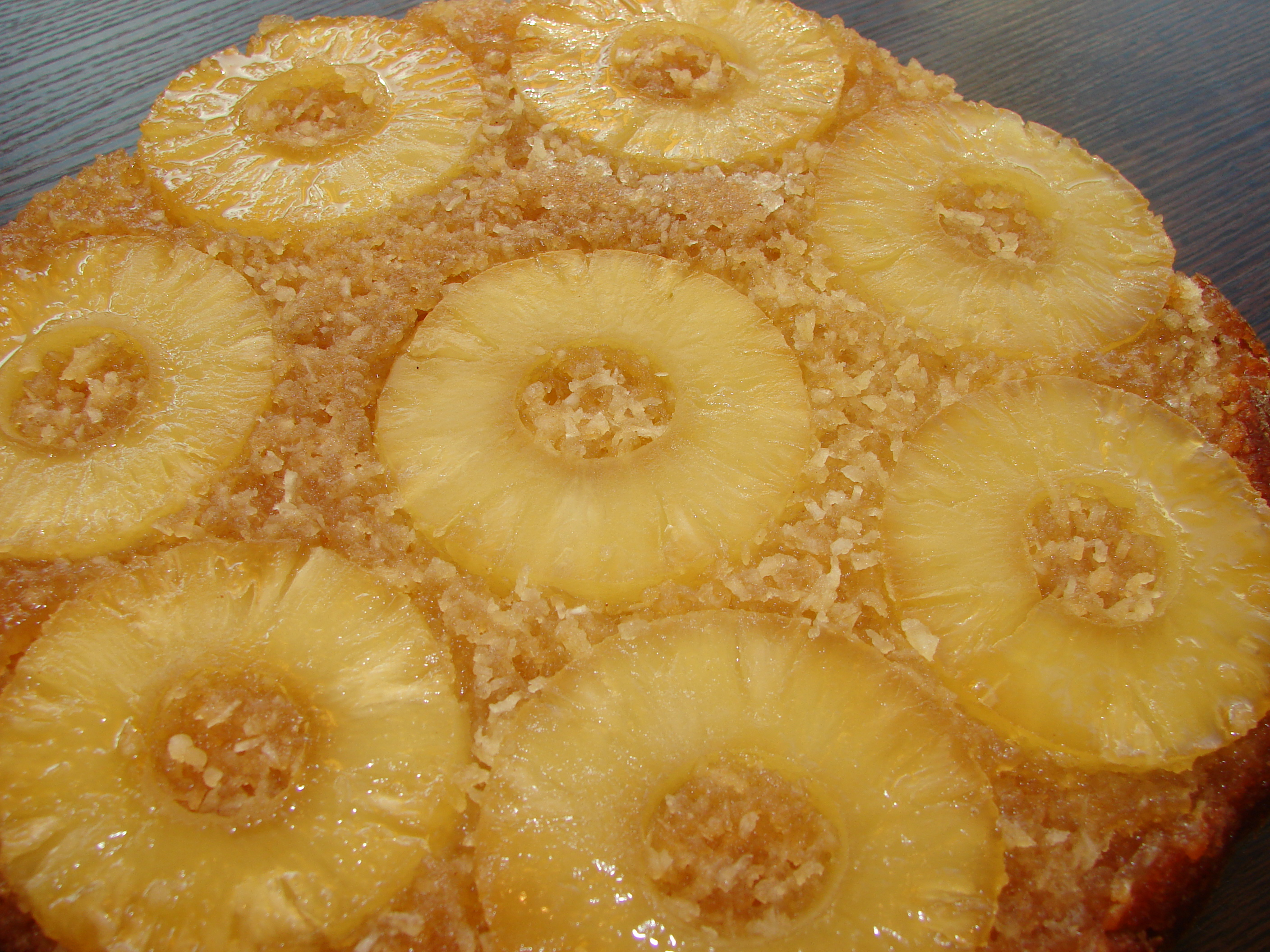 Coconut Milk Pineapple Upside Down Cake