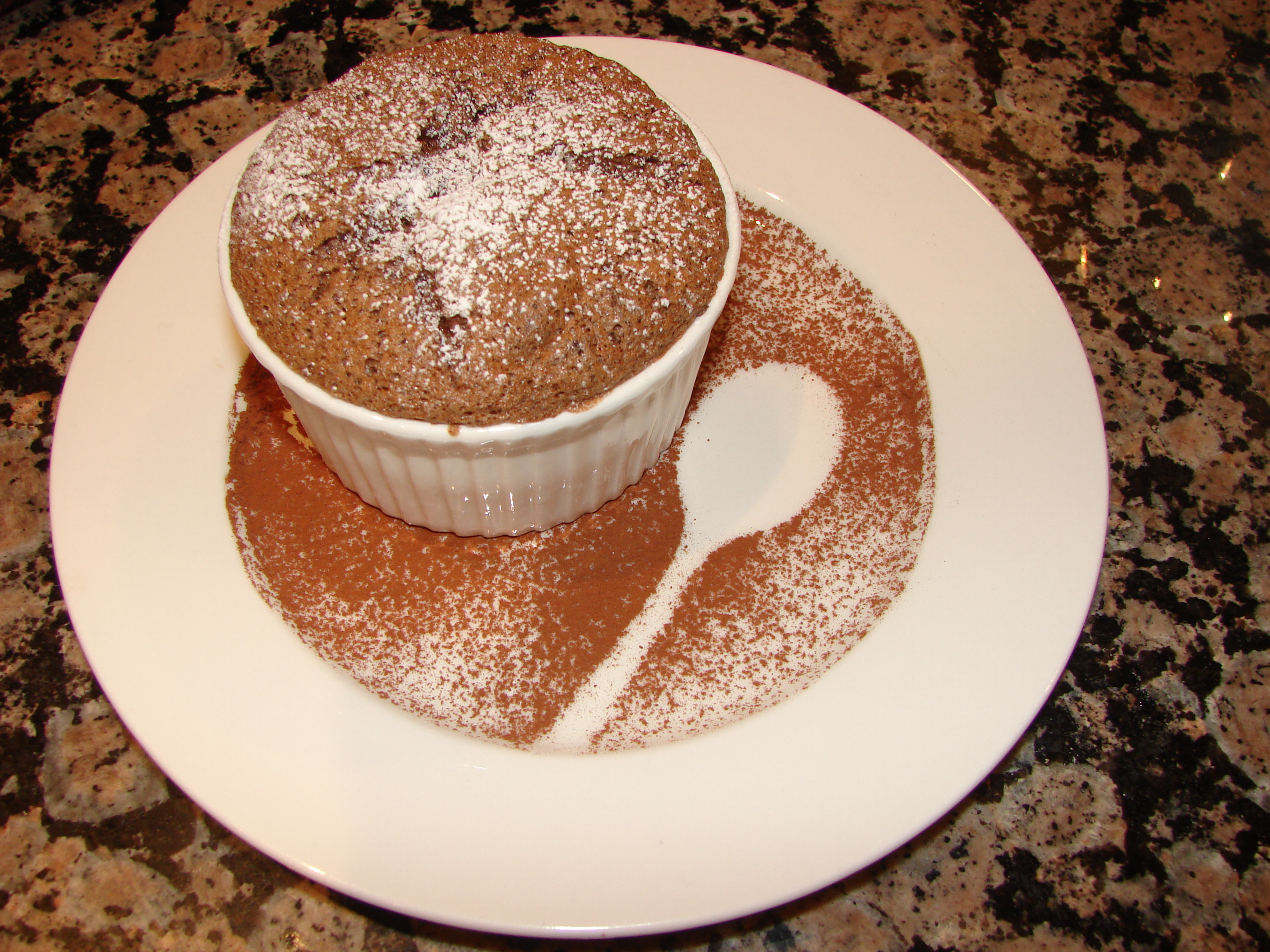 Easy Chocolate Soufflé | The PaperCup Kitchen